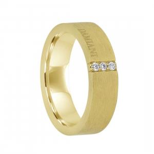 DAMIANI Anello damiani in oro giallo con diamanti ct 0